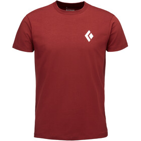 Black Diamond Equipment For Alpinists S/S Tee Men red oxide
